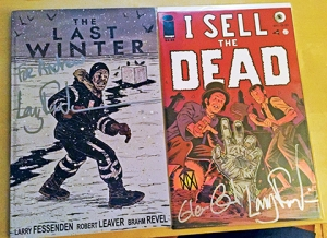 signed comics by larry fessenden